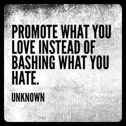 PROMOTE WHAT YOU 