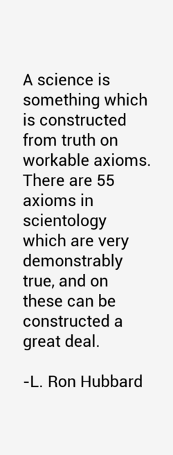 A science is 