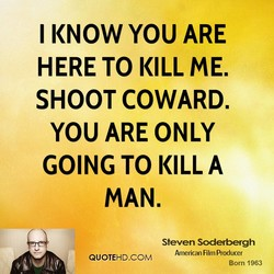 I KNOW YOU ARE 