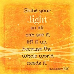 Shine your 