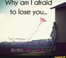 hy am I afraid 