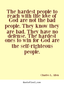 The hardest people to 