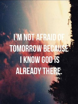 I'M NOT . 