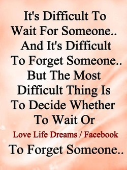 It's Difficult To 
