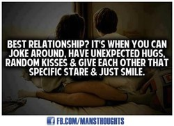 BEST RELATIONSHIP? IT'S WHEN YOU CAN 