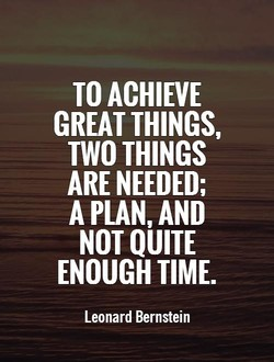 TO ACHIEVE 
