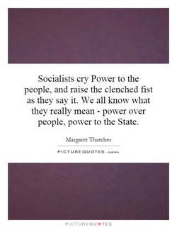 Socialists cry Power to the 