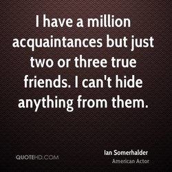 I have a million 