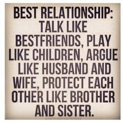 BEST RELATIONSHIP: 