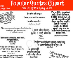 Popular Quotes Clipaff 