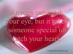 your eye, but it tales 