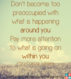 Don't become Too 