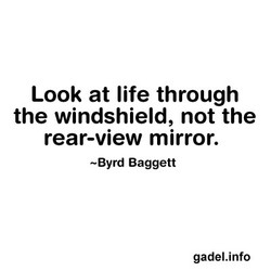 Look at life through 