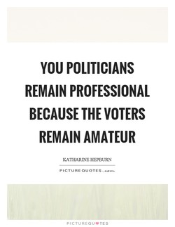 YOU POLITICIANS 