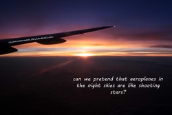 can we pretend that aeroplanes in 