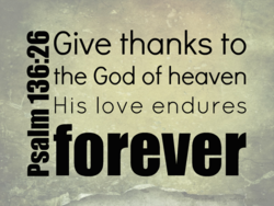 RGive thanks to 
