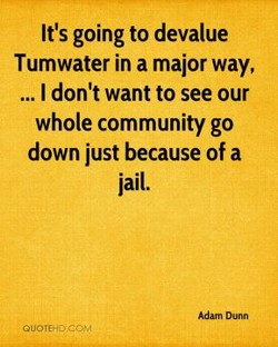 It's going to devalue 