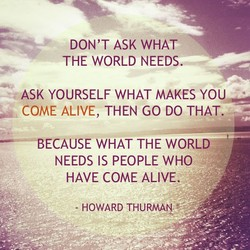 DON'T ASK WHAT 