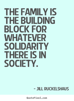 THE FAMILY IS 