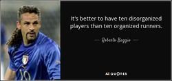 It's better to have ten disorganized 
