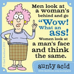 Men look at 