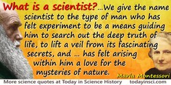 What is a scientist?.. 