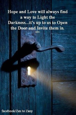 Hope and Love will always find 