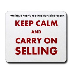 We have nearly reached our sales target. 