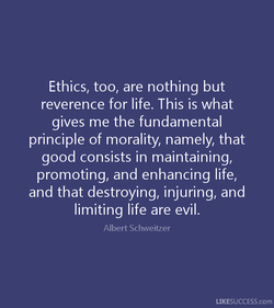 Ethics, too, are nothing but 