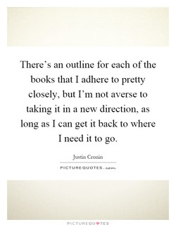 There's an outline for each of the 
