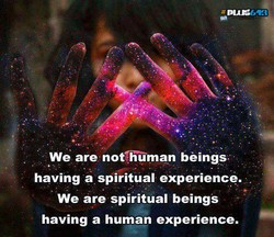 We are nothuman beings 