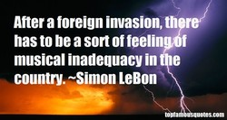 Afteraforeign invasion,tll r 