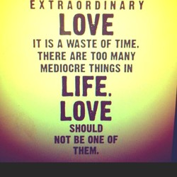 EXTRAORDINARY 