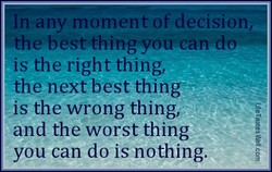 n any momento ecislon, 