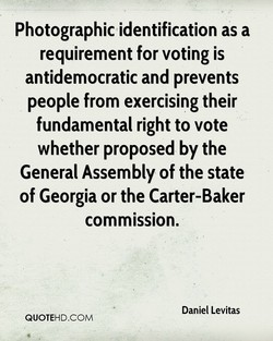 Photographic identification as a 