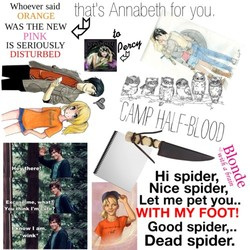 Whoever said that Is Annabeth for 