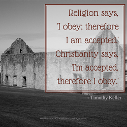 Religion says, 