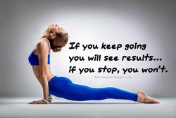 you keep going 