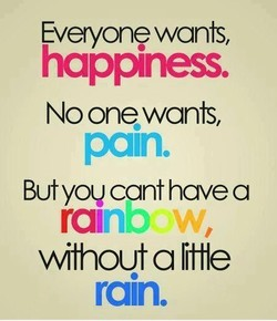 Everyone wants, 