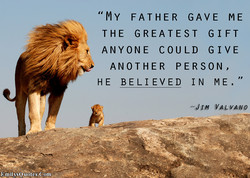 'MY FATHER GAVE ME 