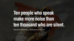 Ten people who speak 
