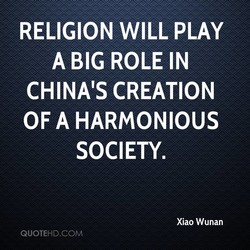 RELIGION WILL PLAY 