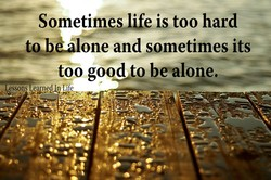 Sometimes life is too hard 