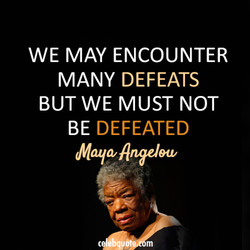 WE MAY ENCOUNTER 