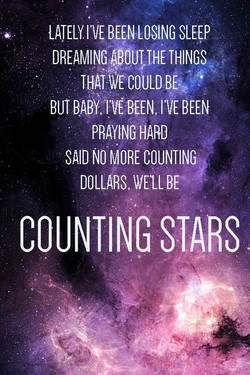 LATELY BEEN LOSING SLEEP 