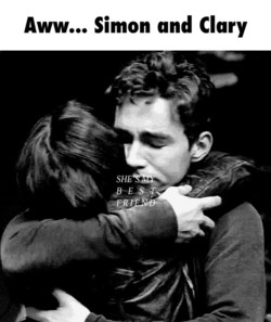 Aww... Simon and Clary 