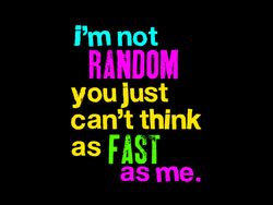 I'm not 