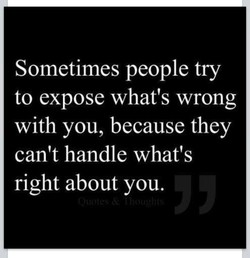 Sometimes people try 