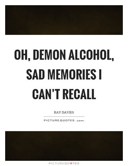 OH, DEMON ALCOHOL, 