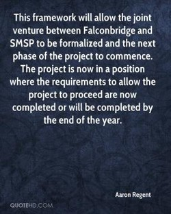 This framework will allow the joint 
